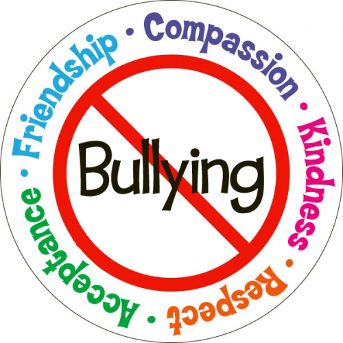 anti-bullying circle of compassion, respect, kindness