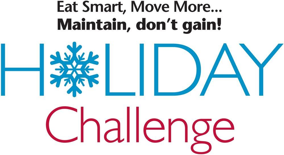 Maintain, don't gain holiday challenge