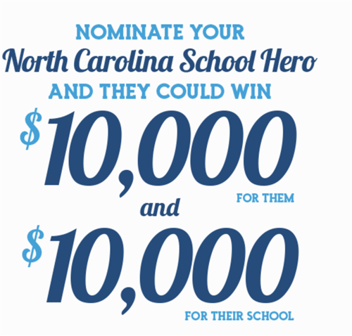 NC School Hero could win $10,000