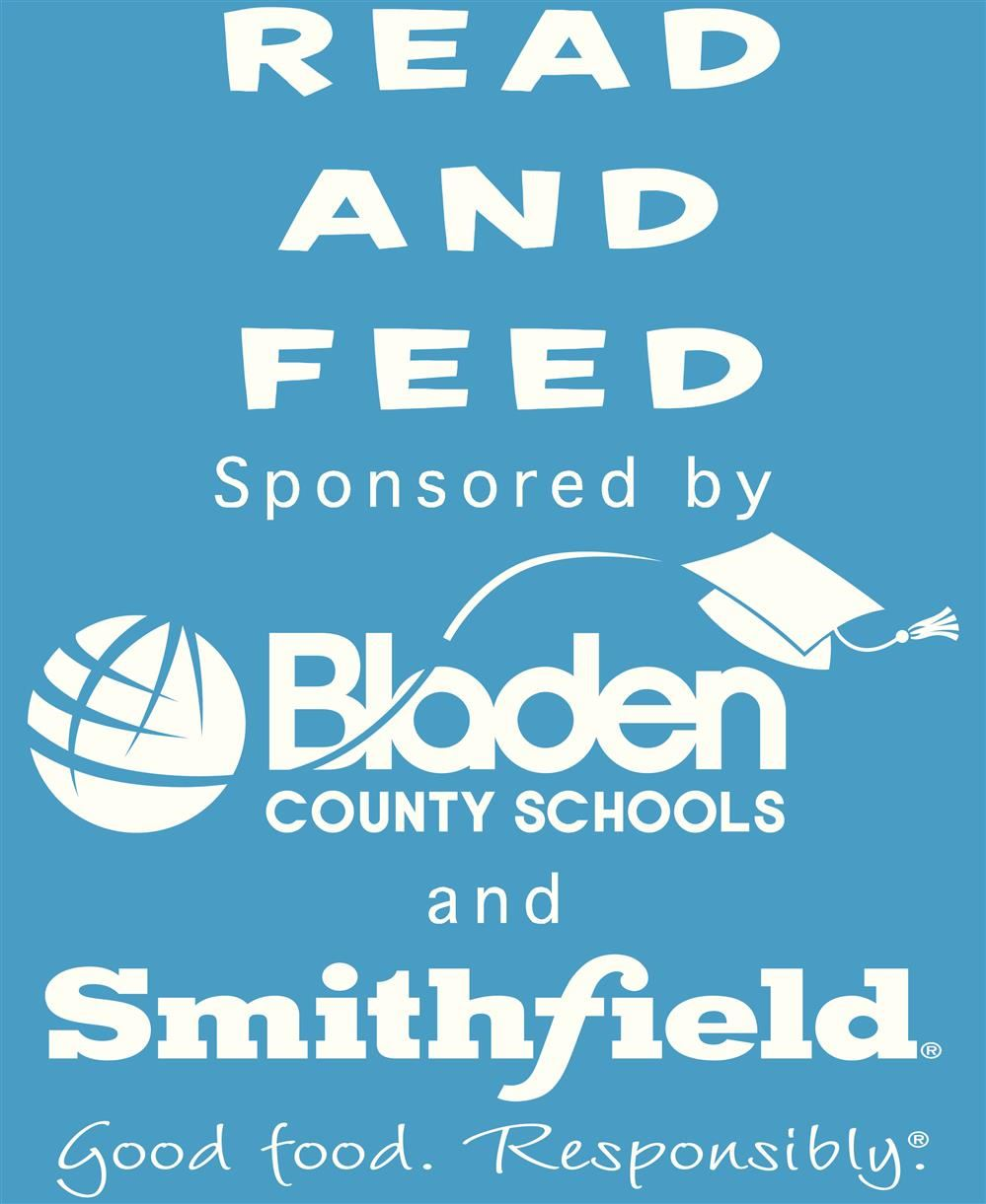 Logo for Read and Feed for Bladen County Schools and Smithfield Foods