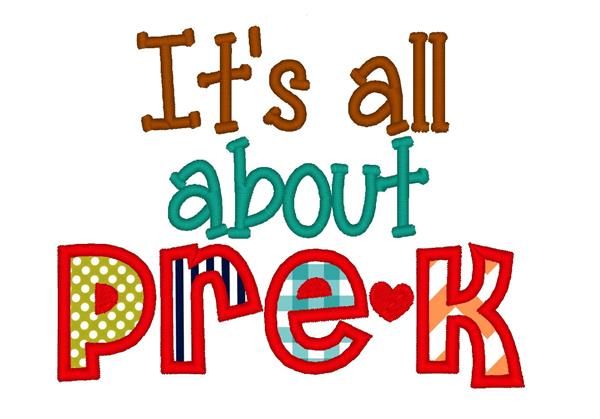 It's all about pre k logo