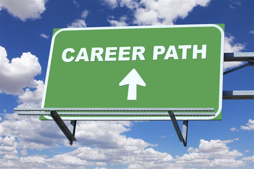 Career Path Sign