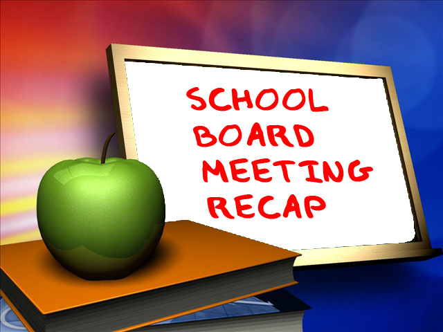 September board meeting recap
