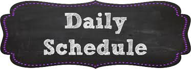 Daily Remote Learning Schedule